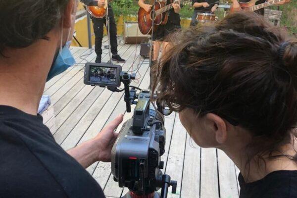 Nuria Monferrer (Directora del videoclip), Pere Carrete (Director de fotografía)